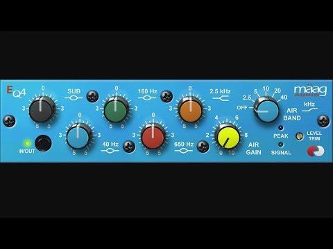 UAD Maag EQ4 Plug-In Trailer