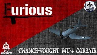 F4U-4 Corsair. Иногда он гнёт.