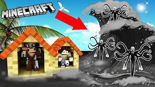 THỬ THÁCH XÂY NHÀ CHỐNG SÓNG THẦN SLENDERMAN BẰNG NHÀ NETHER!! (Channy Minecraft)