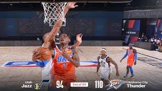 OKC Thunder beat the BRAKES off the Jazz
