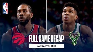 Full Game Recap: Raptors vs Bucks | Giannis and Kawhi Put Up Big Numbers in Milwaukee
