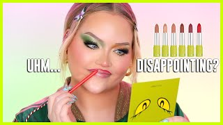 Kylie Will Hate Me For This… KYLIE X GRINCH REVIEW | NikkieTutorials