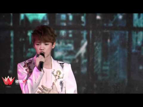 [FANCAM] 120401 EXO Showcase Solo - Baby Don't Cry + What is Love + Two Moons
