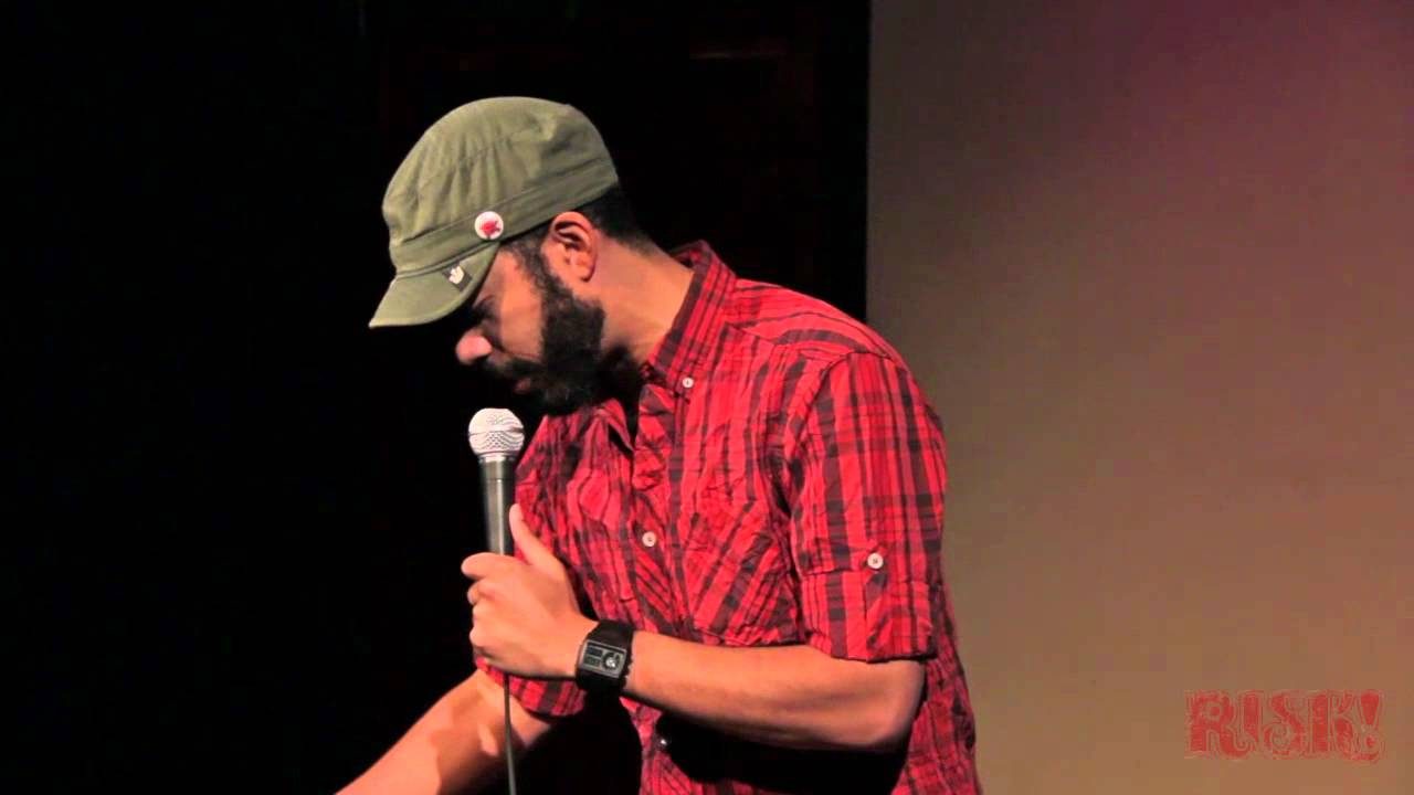 Wyatt Cenac Live at the People's Improv Theater For RISK! - YouTube