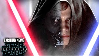 Star Wars Episode 9 Anakin! Exciting News Revealed (Star Wars News)