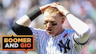 The Yankees have BURIED Clint Frazier | Boomer & Gio