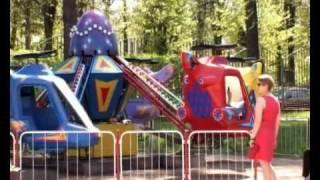 Детский городок - парк с аттракционами в г. Видное