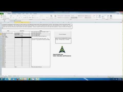 Spreadsheet Breakout Tool