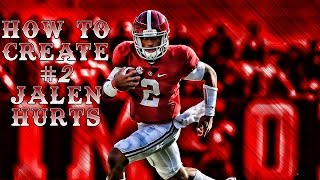 Madden 17 How To Create Jalen Hurts