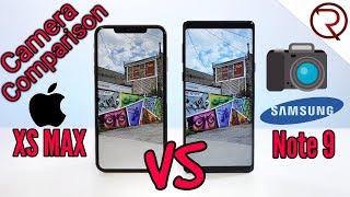 iPhone XS Max VS Samsung Note 9 Camera Comparison!