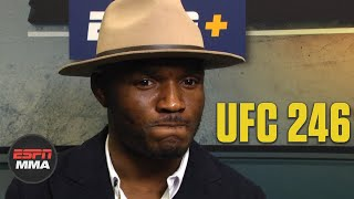 Kamaru Usman not opposed to taking on Conor McGregor | ESPN MMA