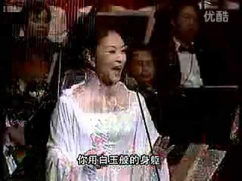 彭麗媛 我愛你塞北的雪(現場版)--中國第一夫人