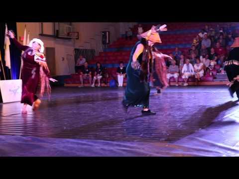 Squamish Nation at 55+ BC Games Opening Ceremonies 2015