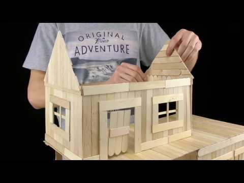 Cara Membuat Rumah Dari Stik Es Krim Videomoviles Com