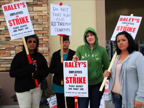 Raley's Workers Holding theLine - Amanda Farnetti