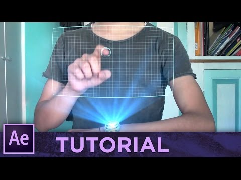 HOLOGRAM • After Effects Tutorial [Sub ENG]