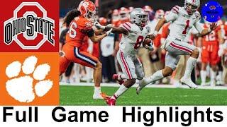 #3 Ohio State vs #2 Clemson CFP Semifinal Highlights | 2021 Sugar Bowl | College Football Highlights