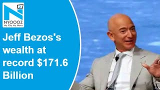 Amazon founder Jeff Bezos's wealth at record $171.6 billio..