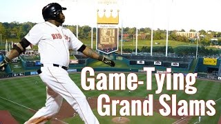 Game-Tying Grand Slams   HD