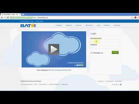 Getting Started with BATOI Cloud