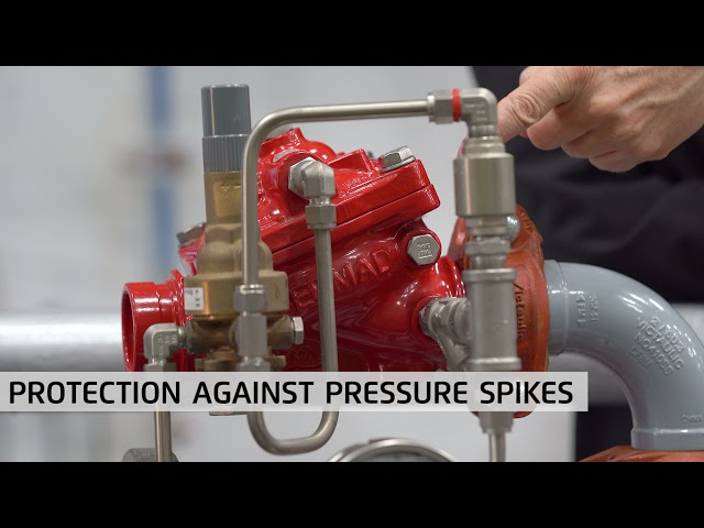 BERMAD FP- 42T / 42T-20 Fire Protection Pressure Reducing Valve – Resetting Procedure