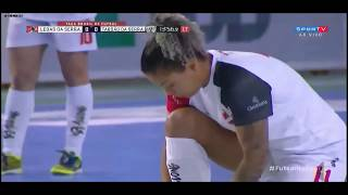 Final da Taça Brasil de Futsal Feminino Taboao da Serra 5 x 5 Leoas da Serra jogão de futsal