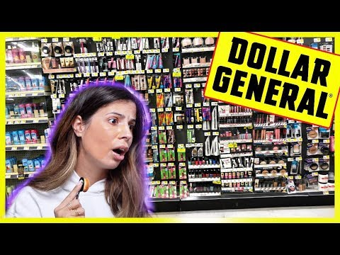 FULL FACE OF DOLLAR GENERAL MAKEUP