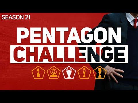 PENTAGON CHALLENGE - FOOTBALL MANAGER 2020 #21