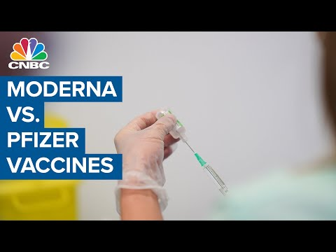 Here's the key differences between Moderna and Pfizer vaccines: Leading vaccine researcher