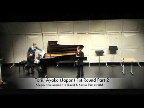 Torii, Ayako (Japon) 1st Round Part 2