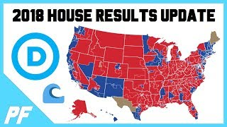 2018 House Midterm Election Results Update - House Voting Results - How Many Seats? Blue Wave?