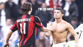 5 Times C.Ronaldo Showed Zlatan Who's The BOSS |HD|
