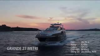 [Review] - Du thuyền Azimut Grande 27 METRI tại Cannes Yachts Show 2017