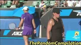Drama In Women Tennis Compilation Part 3