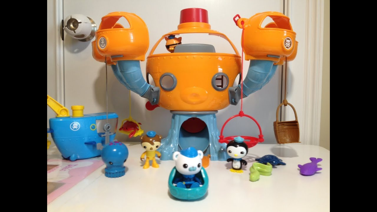 Disney Junior Octonauts Octopod Play Set Featuting