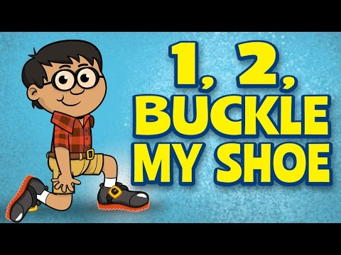 Counting Songs for children - One, Two, Buckle My Shoe - Kids Songs by The Learning Station