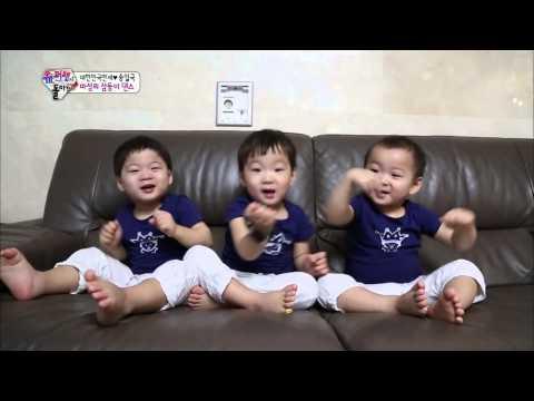 [HIT] 슈퍼맨이 돌아왔다-대한&민국&만세의 '바라밤' 댄스, 귀여움 폭발!.20140831