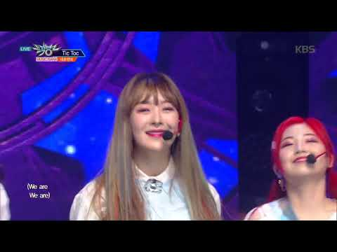 뮤직뱅크 Music Bank - Tic Toc -네온펀치(NeonPunch) .20190215