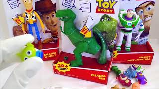 Color Changing Sonic Toys & Opening Toy Story Toys