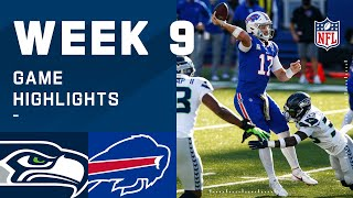 Seahawks vs. Bills Week 9 Highlights | NFL 2020