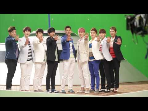 [2013 LOTTE DUTY FREE Music Video Making Film] Super Junior -  JPN Ver