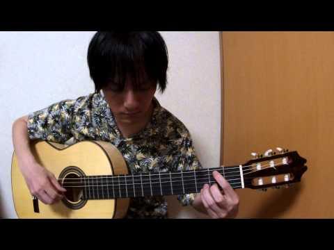 [Solo Guitar Tab] Time After Time(Cyndi Lauper) cover TANAKA YOSHINORI 田中佳憲 chord tutorial tablature