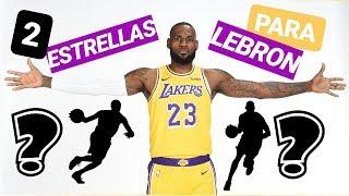 2 ESTRELLAS que LAKERS quiere para LEBRON JAMES 😱 | Noticias NBA en español
