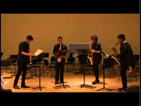 Jesus is Coming by Jacob Ter Veldhuis [Fire-Yen Saxophone Quartet]