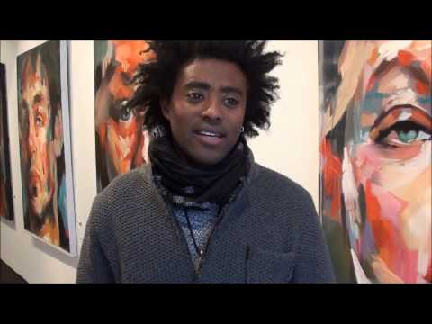 Ethiopian Artist Yared Nigussu's art exhibition in Toronto: ethiofidel