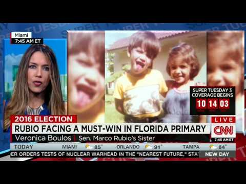 Marco's Sister Veronica Joins CNN To Discuss Family And Campaign | Marco Rubio for President