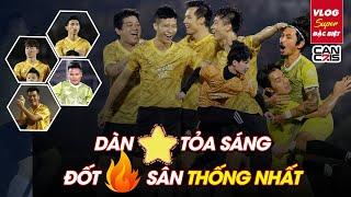 Vlog SUPER ĐẶC BIỆT   Trận đấu siêu lầy lội với Quang Hải, Văn Hậu, Jack, Độ Mixi, Cris Phan...