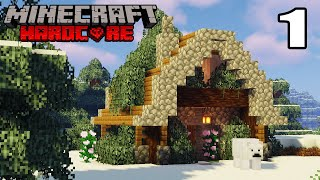 HARDCORE Minecraft Let's Play   A New Beginning!   Episode 1