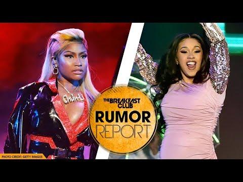 Nicki Minaj Addresses If She Has a Problem with Cardi B