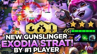 THIS NEW STRAT IS WAY TOO GOOD! NOBRAIN EXODIA! | Teamfight Tactics